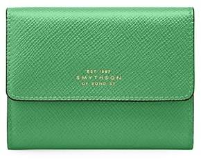 Smythson Panama Small Saffiano Leather Coin Purse