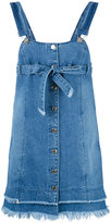 Sjyp denim overall dress - women - Cotton - XS