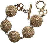 Balenciaga Gold Metal Bracelet