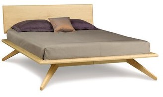 Copeland Furniture Astrid Platform Bed Color: Natural Maple, Size: King