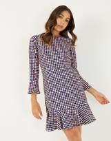 Closet 3/4 Sleeve Pep Hem Dress