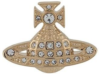 Vivienne Westwood Crystal Orb Earrings