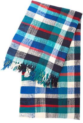 Balakata Essauira Plaid Wool And Cotton Tablecloth