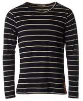Nudie Jeans Orvar Long Sleeved Striped T-shirt
