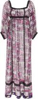 Anna Sui Cotton Voile Printed Dress