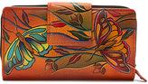 Anuschka Women's Two Fold Organizer Wallet