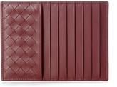 Bottega Veneta Intrecciato Leather Zip-pocket Cardholder