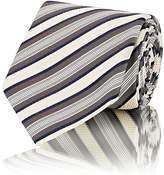 Boglioli Men's Striped Silk Necktie