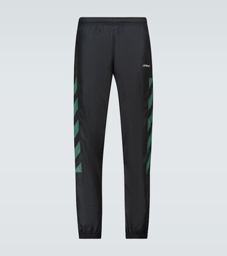 Off-White Diagonal stripe trackpants