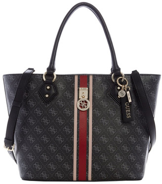 GUESS SS787623COA JENSEN Double Handle Tote Bag