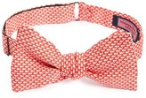 Vineyard Vines Men's 'Micro Whale' Print Silk Bow Tie