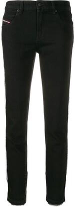 Diesel Babhila slim leg denim jeans