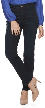 JLO by Jennifer Lopez Women's Flawless Sculpt Straight Leg Jeans