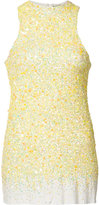 Haider Ackermann sequinned tank - women - Silk/Cotton/Spandex/Elastane/Sequin - S