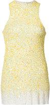 Haider Ackermann sequinned tank - women - Silk/Cotton/Spandex/Elastane/Sequin - S