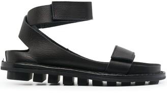 Trippen Ridged-Sole Sandals