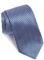 BOSS Geometric Woven Silk Tie