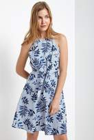 Soprano Tropical Blues Dress