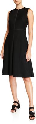 Kate Spade sleeveless tweed dress