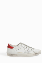 Golden Goose Deluxe Brand Red Heel Superstar Trainers