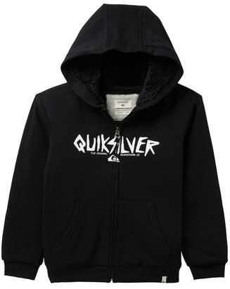 Quiksilver Rough Type Towner Fleece Lined Hoodie (Big Boys)