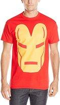 Marvel Men's Iron Man Big Face Men's T-Shirt