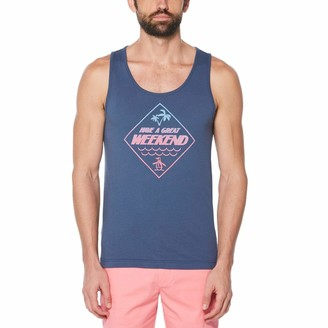 Original Penguin Have a Great Weekend Ombre Tank