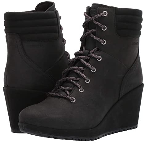 Merrell Tremblant Wedge Boot Waterproof (Black) Women's Boots