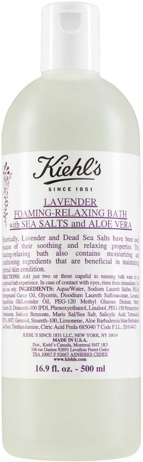 Kiehl's Lavender Foaming-Relaxing Bath with Sea Salts and Aloe