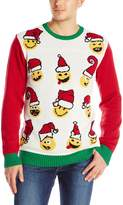 The Ugly Christmas Sweater Kit Men's Emoji