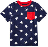 JCPenney Okie Dokie American Pocket Tee - Toddler Boys 2t-5t