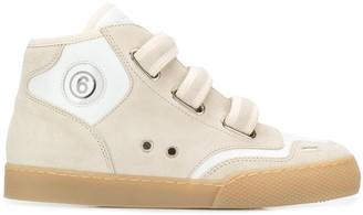 MM6 MAISON MARGIELA Hi-Top Sneakers