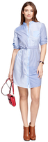 Brooks Brothers Cotton Poplin Shirt Dress