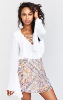 MUMU Huck Skirt ~ Babes of Babylon