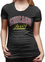 Hera-Boom ATee Chicago Flash Basketball T-shirts For Woman
