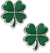 Macy's Children's Four-Leaf Clover Stud Earrings in Sterling Silver