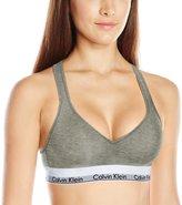 Calvin Klein Women's Modern Cotton Lightly Lined Bralette