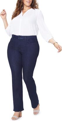 NYDJ Plus Plus Size Barbara Boot-Cut Jeans