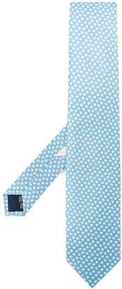 Salvatore Ferragamo starfish print tie