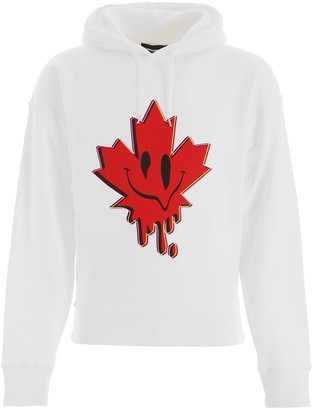 DSQUARED2 Graphic Printed Hoodie