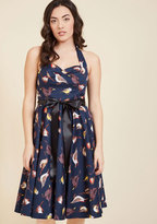 ModCloth Pinup Perfection Fit and Flare Dress in S
