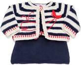 Etcì Handmade Cotton Tricot Top & Cardigan