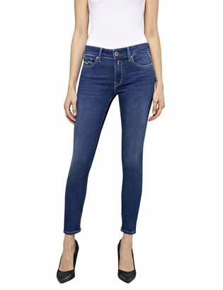 Replay Women's New Luz Ankle Zip Skinny Jeans