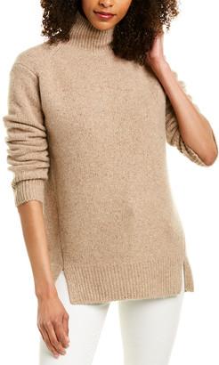 Vince Double Slit Cashmere Sweater
