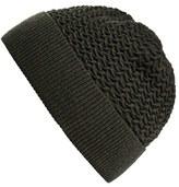 A.P.C. Men's 'Bonnett Jeff' Merino Wool Beanie - Beige