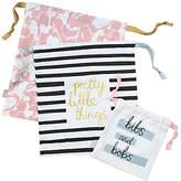 Caroline Gardner Pretty Travel Bags, Set of 3