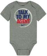 "Nike Baby Boy Talk To My Agent"" Graphic Bodysuit"