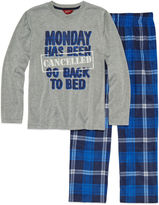 Arizona Husky 2 pc Monday's Pajama Set - Boys