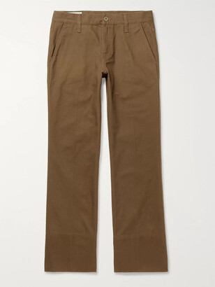 Gucci Slim-Fit Denim Jeans - Men - Brown