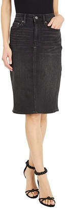 Lauren Ralph Lauren Denim Skirt (Skyline Black Wash) Women's Skirt